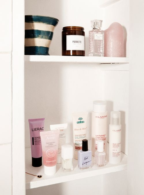 Beauty secrets: Inside the Bathroom Cupboards of Jeanne Damas | Vogue Paris