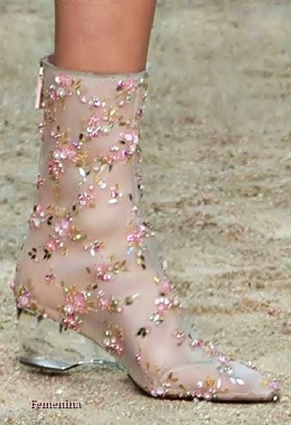 81e12deef6b Chanel Spring Summer 2018 Couture - Shoes  chanel  hautecouture  shoes