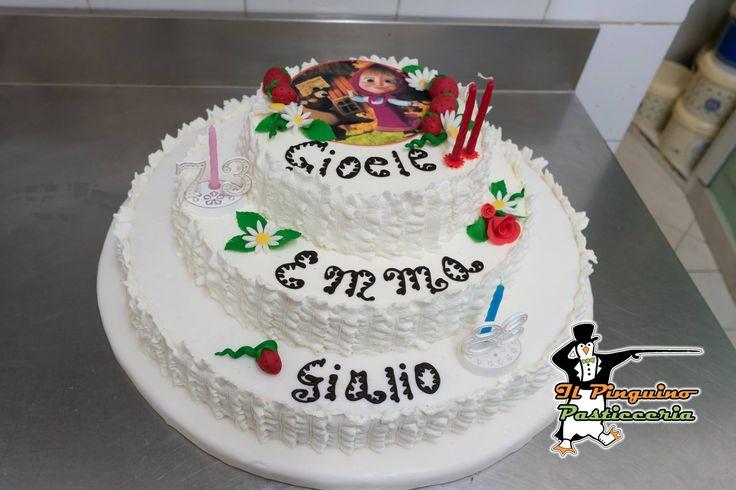 Una sola torta per tre compleanni... 3 volte auguri!!! #ilpinguinocarpegna #torta #cibo #cibosano #pasticceria #gelato #gelateria #pasticceriaitaliana #pastry #pastrychef #dessert #desserts #food #foods #sweet #sweets #dessertporn #cake #foodgasm #foodporn #delicious #foodforfoodies #instafood #chocolate #icecream #instafoodies #artigianale #pasticceriaartigianale #dolciartigianali #cakedesign #birthday…