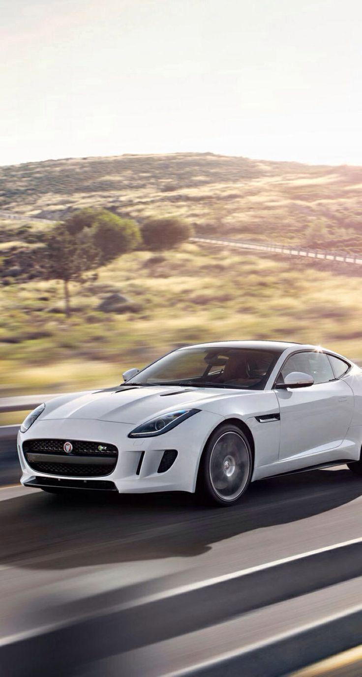 Polaris white F-Type ... Jaguar