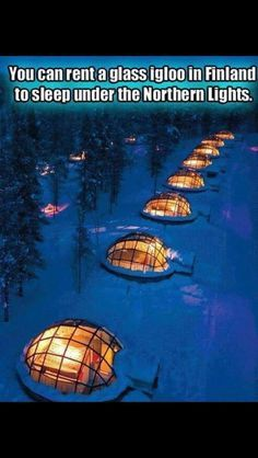 Bucket List for sure!