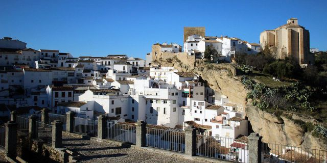 This Spanish Town Is Living Under a Rock  - HouseBeautiful.com