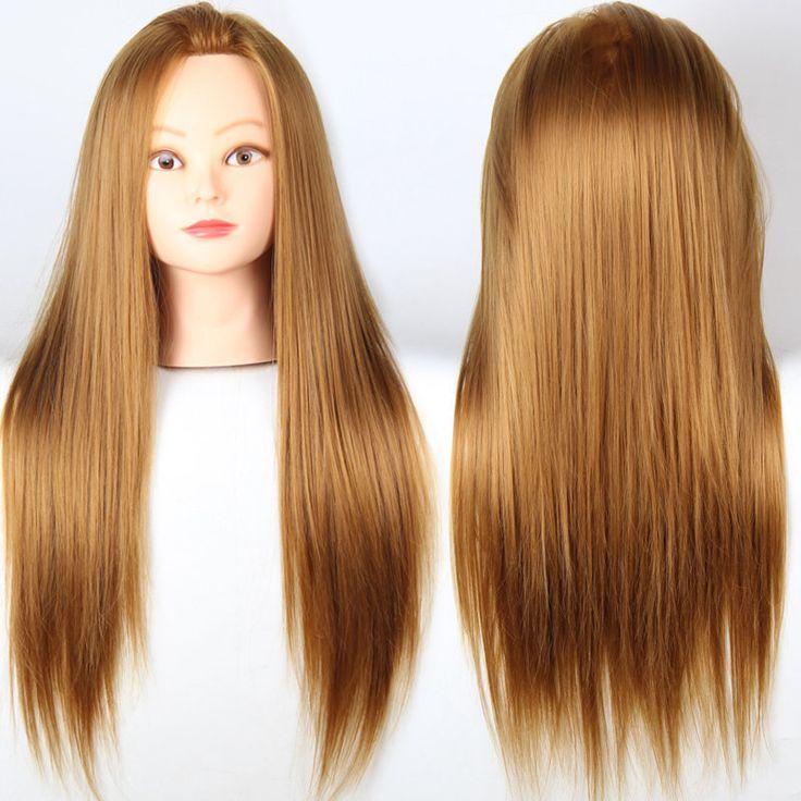 Учебный манекен-головки для парикмахеров золотые волосы манекен голова Maniqui косметология манекен-головки с волос Manequin