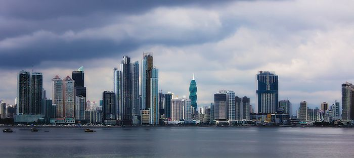 Панорама Панама-Сити