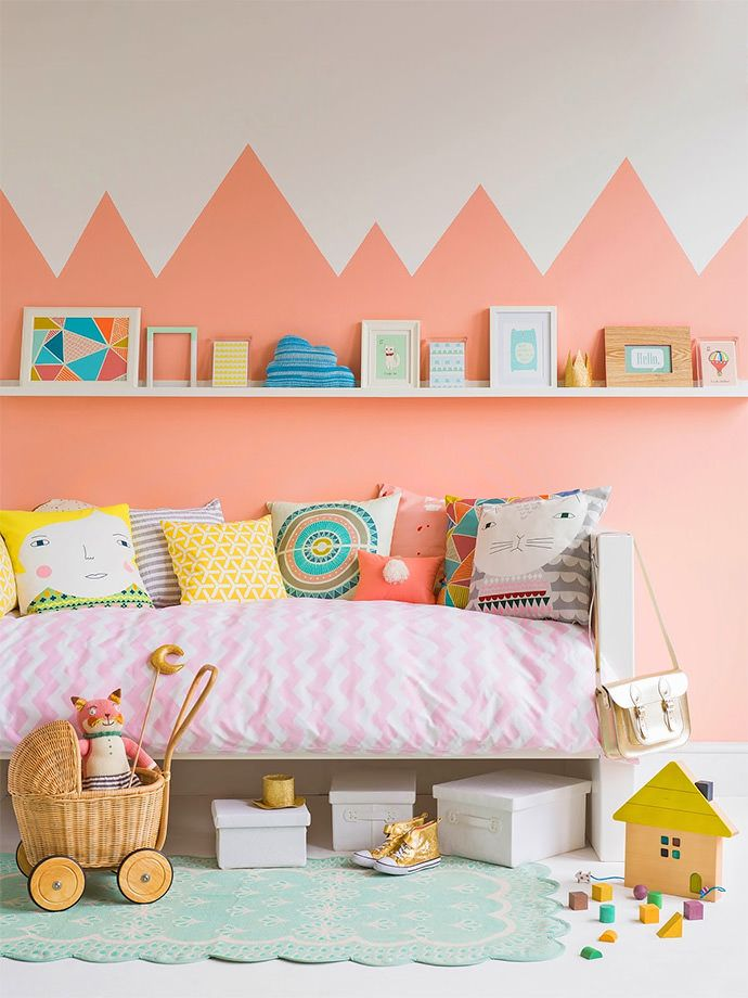Get creative with paint ivia n the kid's room! (Charlotte Love for Good Homes Magazine)