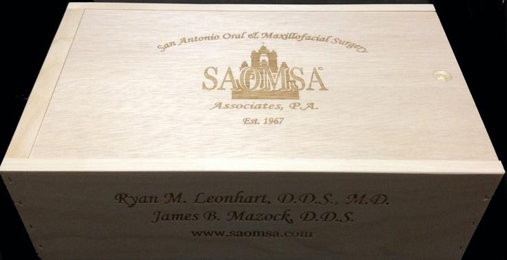 Saomsa Custom 3 Bottle Slide-top Wine Case