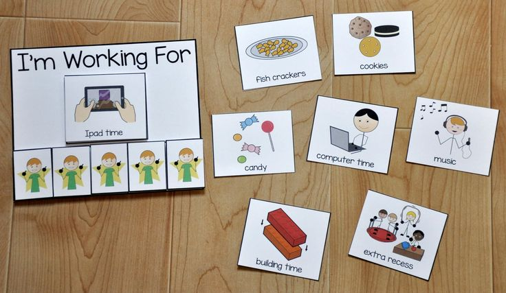 Free Behavior Supports! This printable behavior support provides visual support for students with Autism and other visual learners. This reward board is ideal for students who have difficulty completing tasks, or consistently repeating a desired behavior.