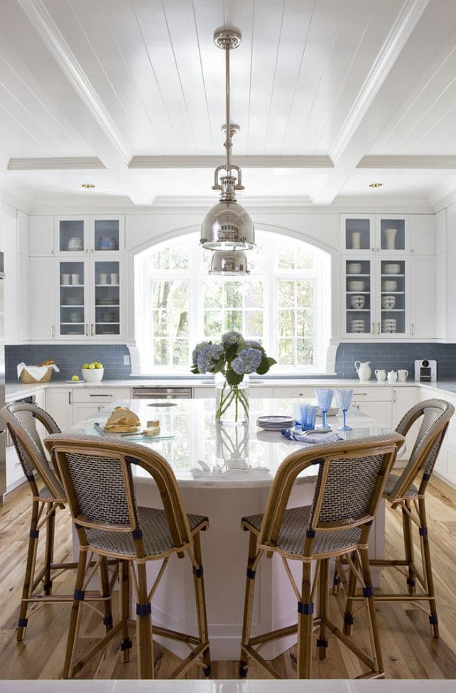 "Interior Design Ideas - ""Interior Cabinet Paint Color"" (Benjamin Moore Beacon Gray 2128-60)"