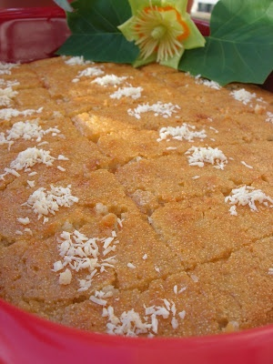 Almost Turkish Recipes: Damascus Dessert (Şam Tatlısı)