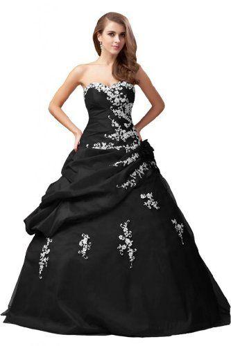 Emma Y Lady Neu 2013 Lang Traegerlos Taft Applikation Ballkleider Partykleider Abendkleider Emma Y Lady, http://www.amazon.de/dp/B00H6Z8C1G/ref=cm_sw_r_pi_dp_Zr.5sb0Y0N6YT