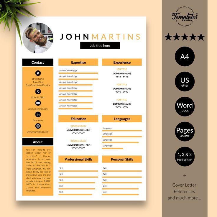 Pin by Jaime Voelkel on Design Resume design