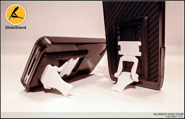 The black on white slidestand.