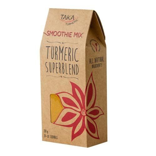 Taka Turmeric Smoothie Mix Turmeric Superblend 200g