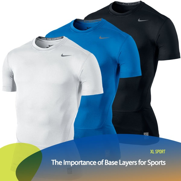 Tahukah kamu kalau berolahraga menggunakan 'base layer' bermanfaat saat kita berolahraga? Base layer adalah lapisan pakaian berbahan katun dan lycra yang dipakai pada saat berolahraga.   Fungsinya adalah untuk menjaga agar badan tidak basah karena keringat & agar otot yang bekerja. tetap lentur.
