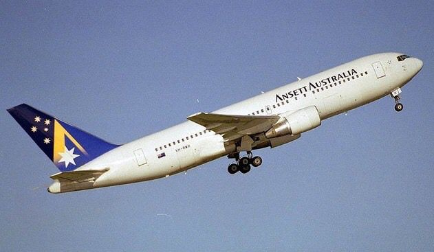 Ansett Australia Boeing 767-200 (VH-RMH)