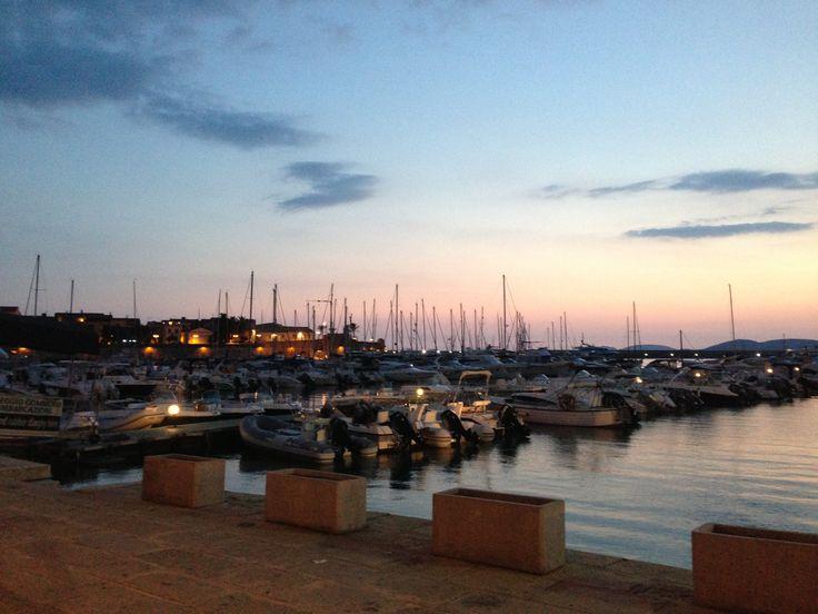 Puerto de Alghero, Sardegna