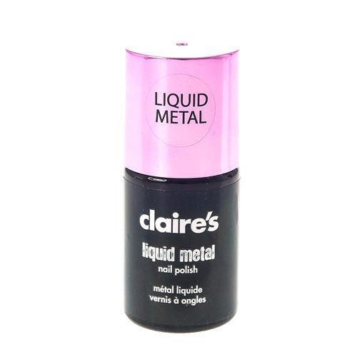 Pink Liquid Metal Nail Polish