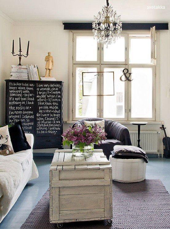 must try the black dresser with white words!  http://www.avotakka.fi/