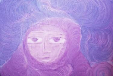 "Saatchi Art Artist ageliki baka; Painting, ""Beholding the World - Meditation"" #art"