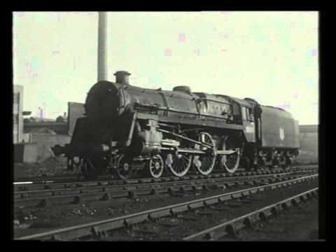 A Visit To Saltley Shed - Railway Roundabout 1959 - 3 mins 56 secs