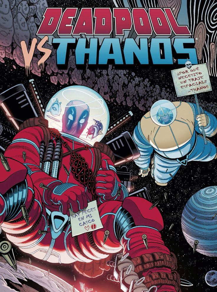 Deadpool vrs. Thanos 02