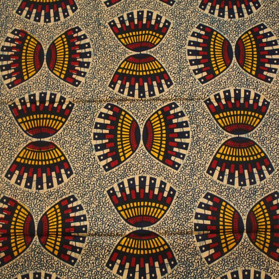 African Print Fabric, Ankara Material, Tribal print, printed cotton, bold print…