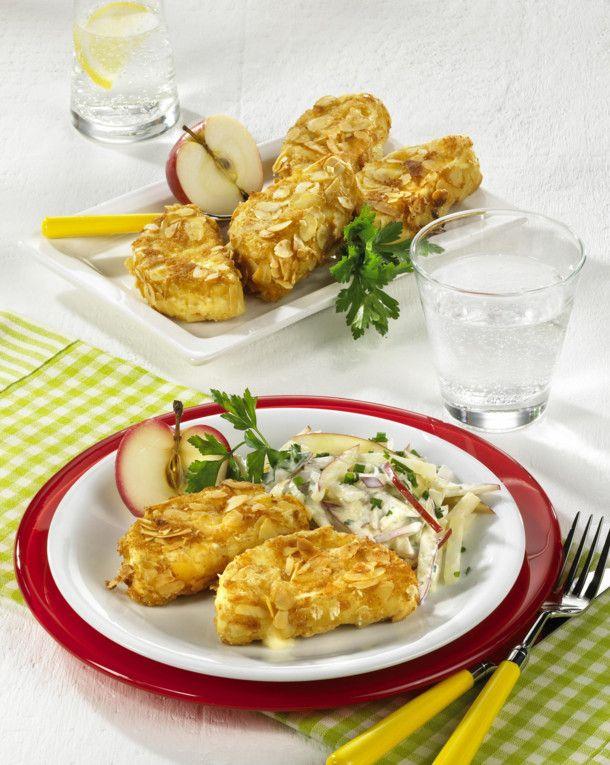 Unser beliebtes Rezept für Gebackener Camembert mit Mandelkruste und mehr als 55.000 weitere kostenlose Rezepte auf LECKER.de.