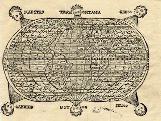 Mappamondo [Carte e Stampe Antiche - Pettinaroli, Milano]