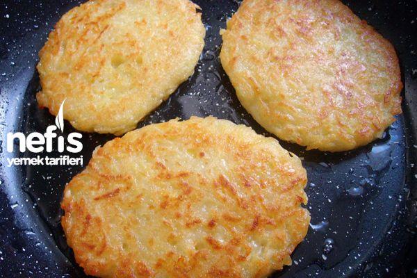 Kaşarlı Patates Mücver – Nefis Yemek Tarifleri
