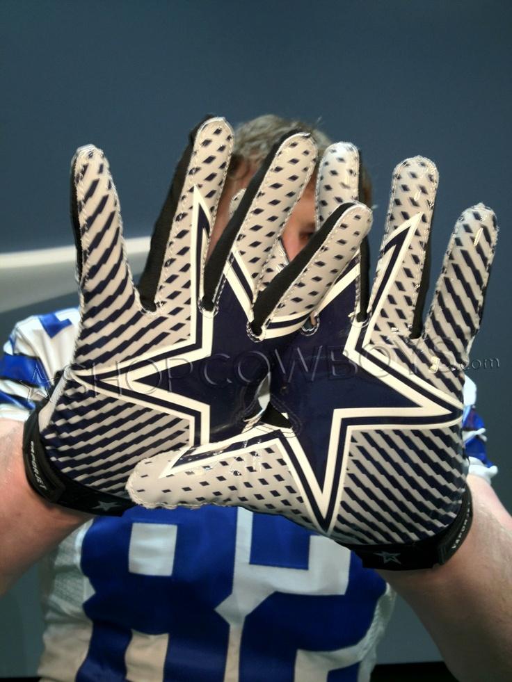 dallas cowboys football gloves nike