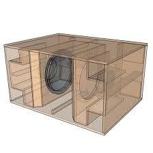 Resultado de imagen para subwoofer box design for 18 inch