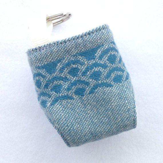 Oscha Okinami Harris Mini Cloth Nappy Keyring by GirlsGotFabric