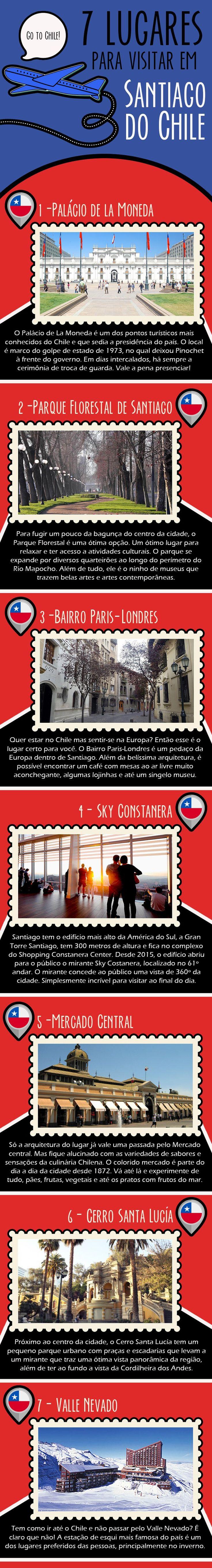 SEVEN LIST - CABIDE COLORIDO - SANTIAGO DO CHILE
