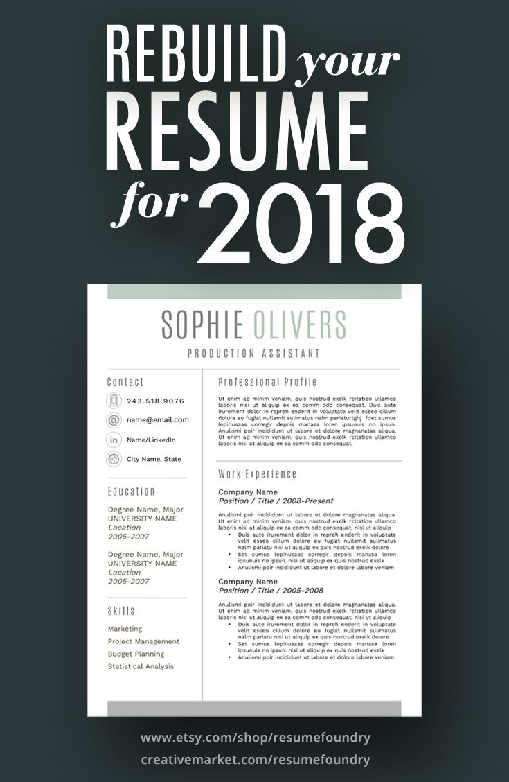 In the early start of the year employers are on the search for new employees. We can help save you time and provide a professional looking resume, cover letter and reference page. Visit our store on Etsy to instantly download this resume and begin adding your experience. Send it off to prospective employers the same day.