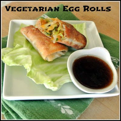 Gourmet Cooking For Two: Vegetarian Egg Rolls