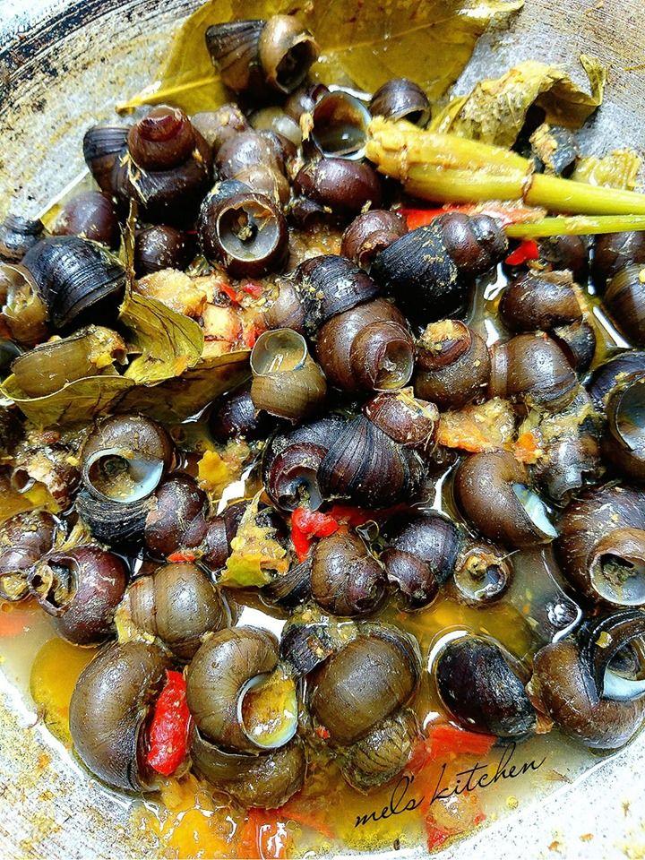 Tutut Pedas Kuah Kuning By Melany Sam S Langsungenak Com Resep Resep Makanan Dan Minuman Ide Makanan