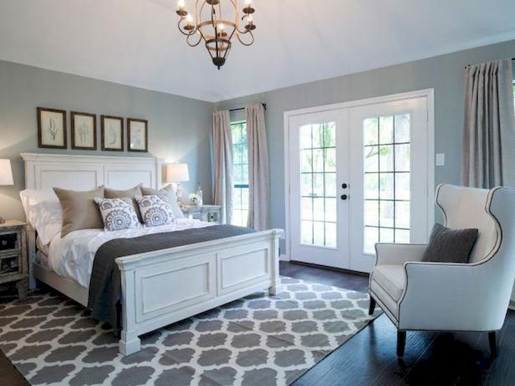 74 incredible cozy farmhouse master bedroom ideas - Cool Bedroom Design Ideas