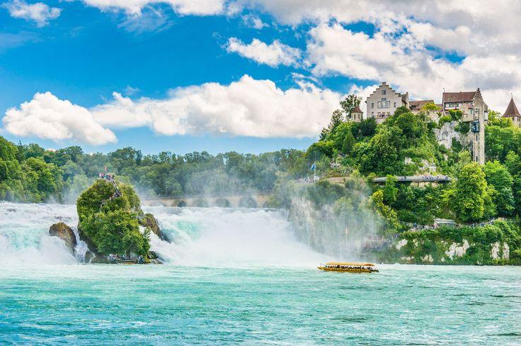 Schönste Landschaften Europas – Rheinfall Copyright VitalyPeklich – Euro …   – Europe