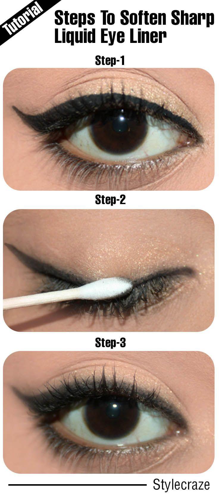 #Eyeliner stay longer #eyeliner lasts all day #stop eyeliner smudging #smudge proof eyeliner #eyeliner tutorial #eyeliner application
