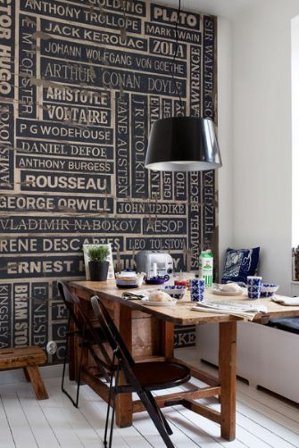 Mr Perswall - Communication - Writers - Thinking In Ink Wall Mural - Wallpaper would be cool with artists too!