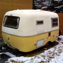The Boler trailer was the first lightweight trailer made. There are still many of them around.