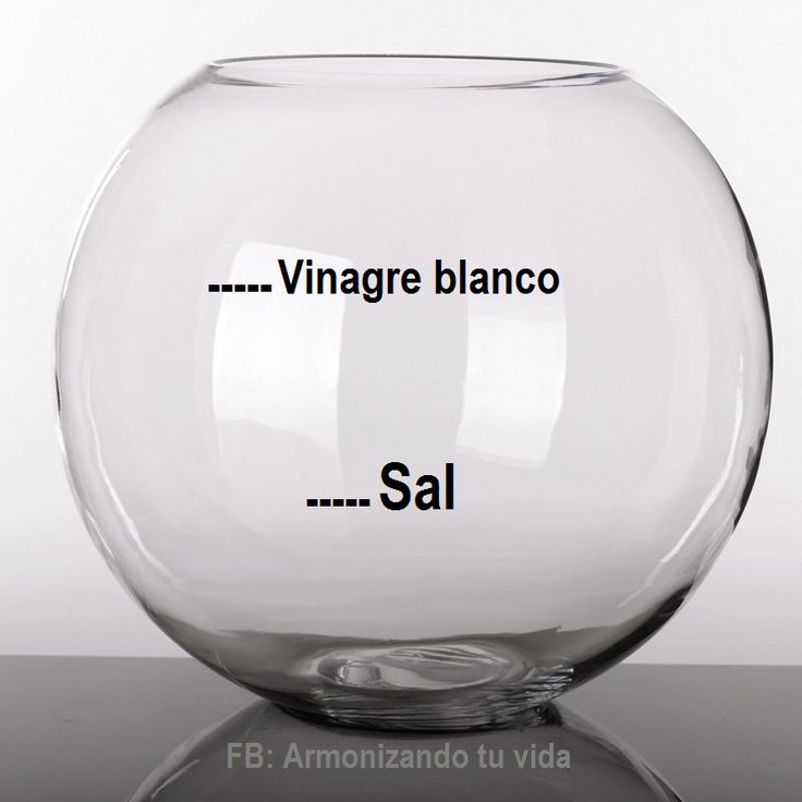 Si te sientes triste deprimido o emocionalmente inestable coloca la cura de sal con vinagre - Limpieza de malas energias ...