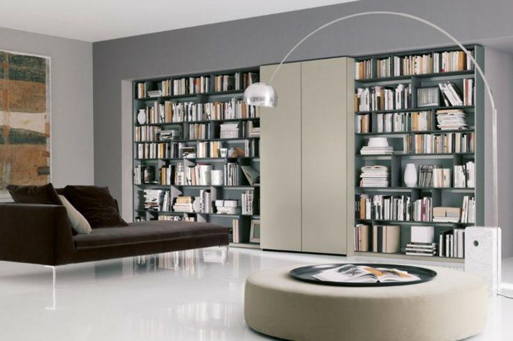 salones modernos muebles librerias