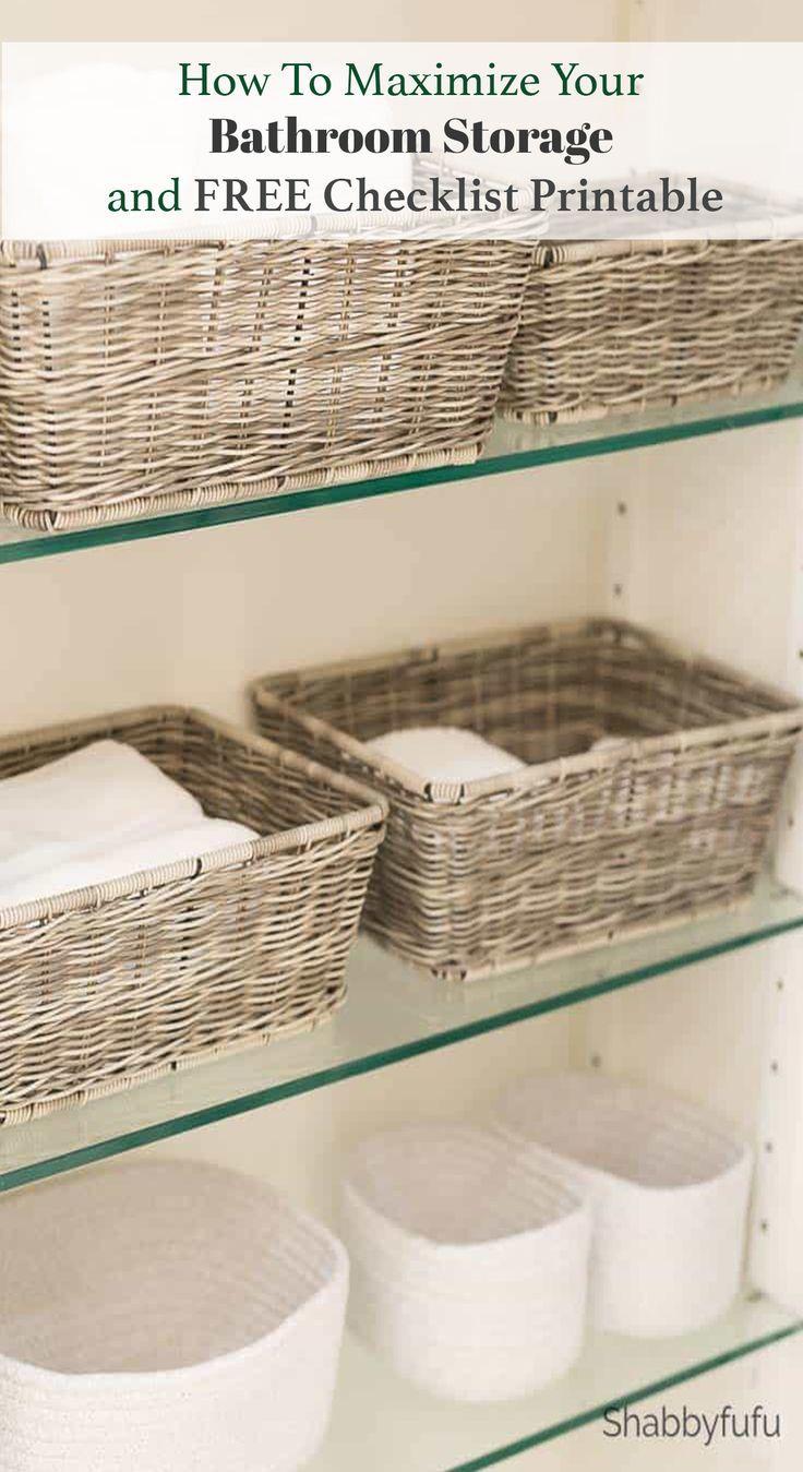 Bathroom Storage Baskets And Organization Bathroom Basket Storage Bathroom Storage Storage Baskets