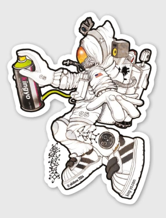 Aerospace sticker by mark richmond