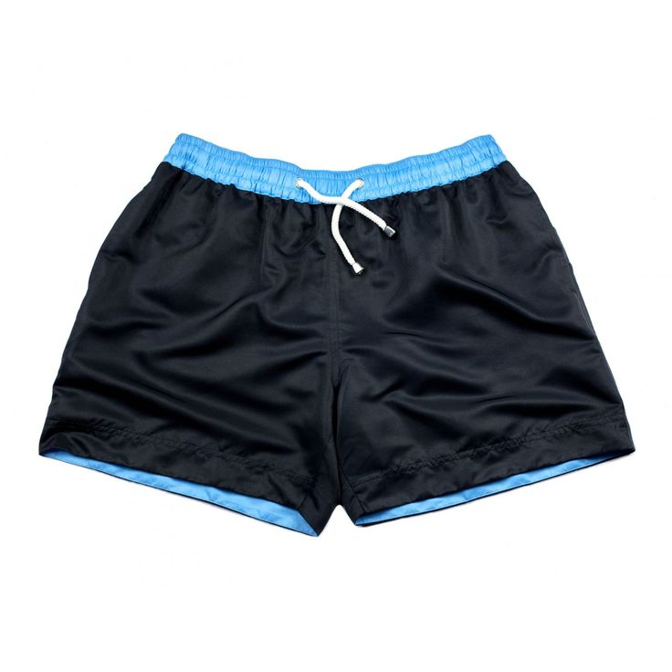 L.A. BLACK SHORTS | Regardless of changing trends, there is one colour that remains timeless – black. Our L.A. black shorts, named after the American city associated so heavily with a sense of effortless cool, are the ideal choice for the man looking to remain understated yet impressive along strips of beach or by poolside this summer. Shop the collection at thomasroyall.com