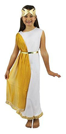 ROMAN GIRL COSTUME FANCY DRESS SCHOOL CURRICULUM ROMAN GREEK OR EGYPTIAN GODDESS WHITE TUNIC WITH GOLD SASH u0026 GOLD HEADPIECE MED-LARGE  sc 1 st  Pinterest & ROMAN GIRL COSTUME FANCY DRESS SCHOOL CURRICULUM ROMAN GREEK OR ...