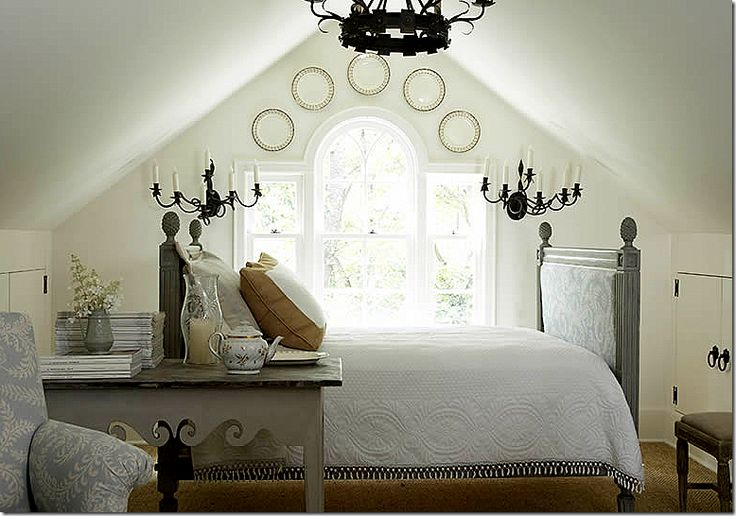 Jackye Lanham: attic bedroom