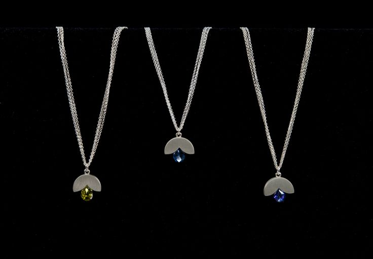Jewelry by Bree Richey.Hand-crafted sterling silver.