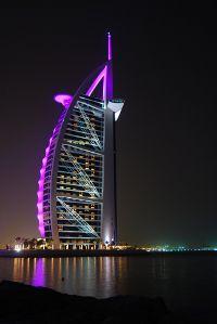 Dubai seara